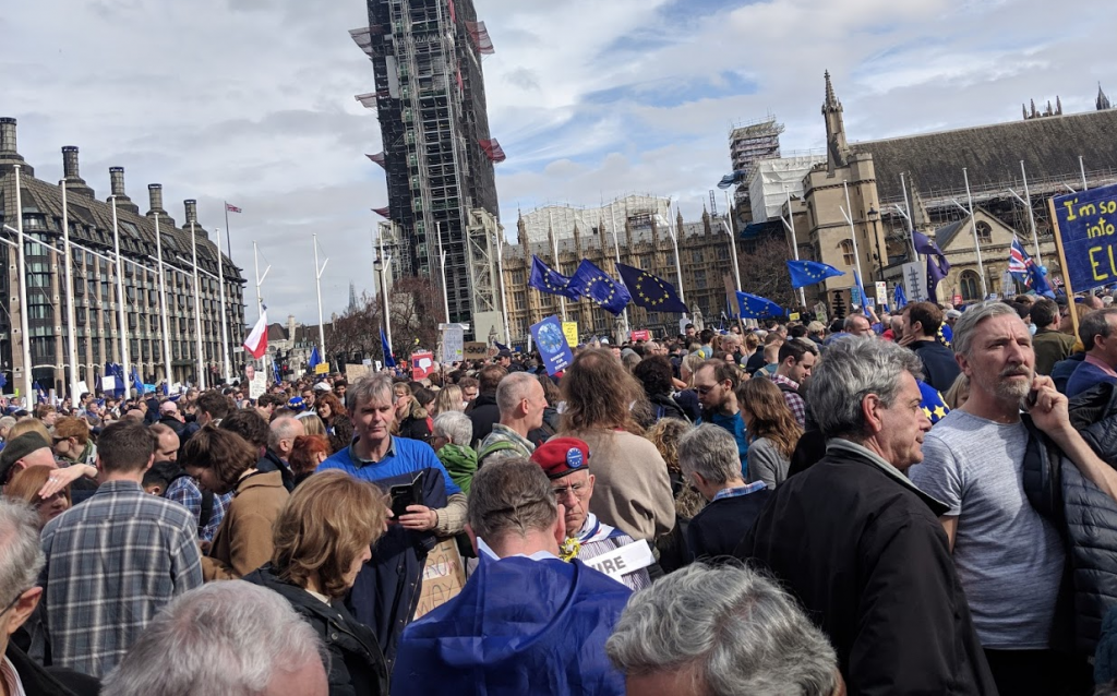Pro-EU rallies drew middle-aged, middle class liberals in large numbers; the rest of the country had other concerns.