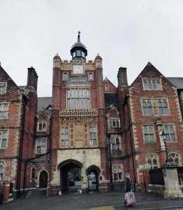 Frontage of Brighton College