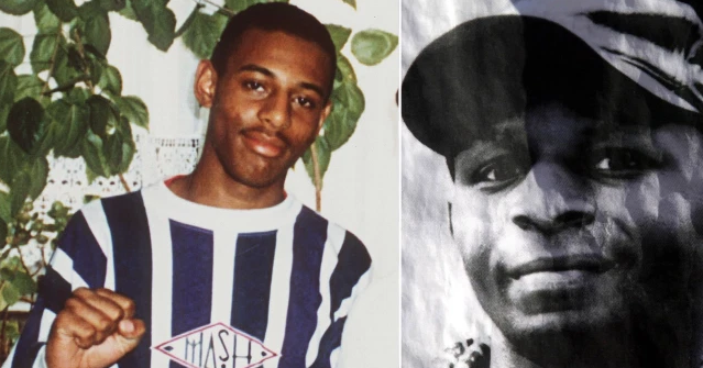 Photo of Stephen Lawrence and Christopher Adler, who were both murdered in racially-motivated attacks, and who inspired a character in the current series of the BBC drama Line of Duty