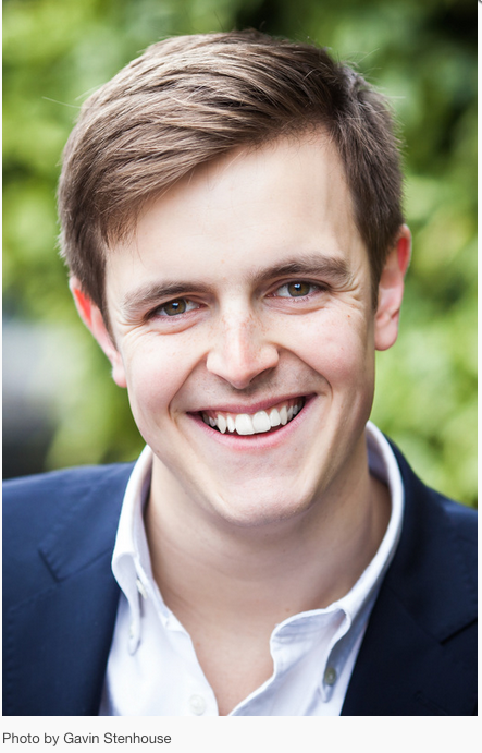 Photo of Sabastian Charlesworth, a professional musician and conductor, and the Musical Director of two highly regarded amateur choirs in Sussex
