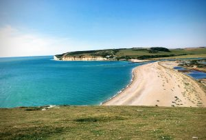 A view of Cuckmere Haven, East Sussex