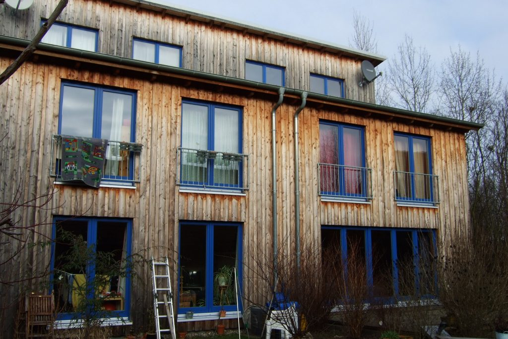 Timber frame eco-houses in Germany