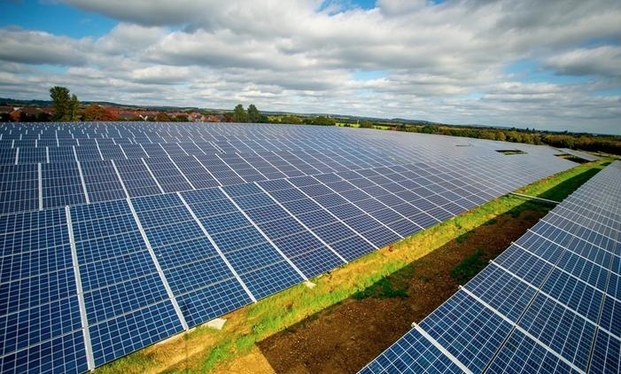 Solar panels in West Sussex